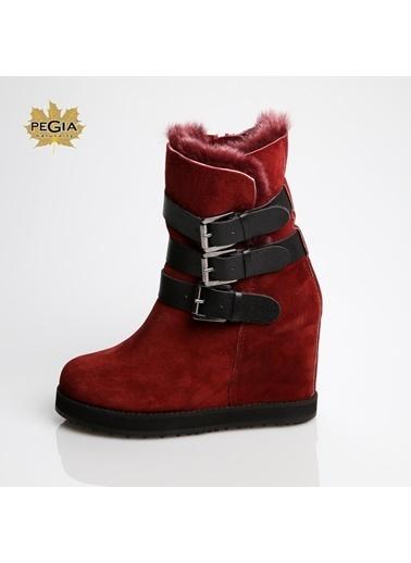Pegia Ayakkabı Bordo